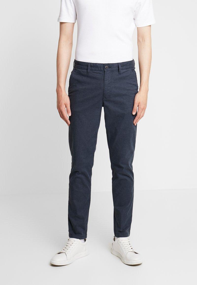 Selected Homme - SLHSLIM PARKER MIX PANTS  - Kalhoty - navy blazer