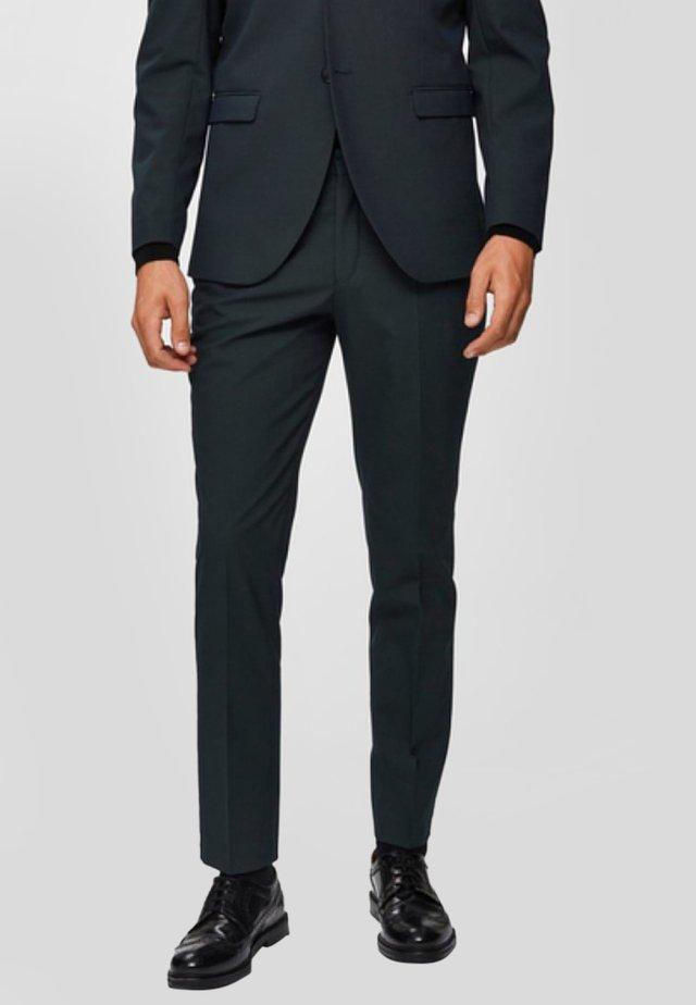 SLIM FIT - Suit trousers - darkest spruce