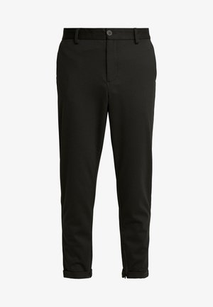 SLHSPECIA ALEX MIX ZIP PANTS - Pantalon classique - black