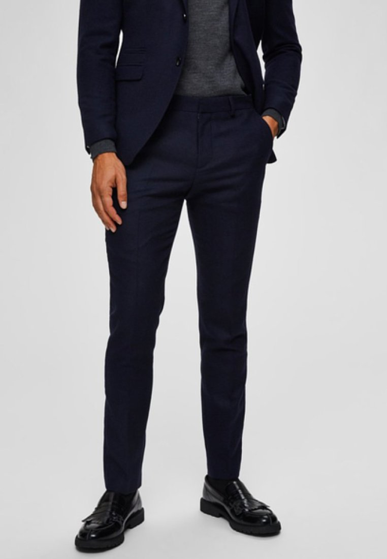 Selected Homme - Suit trousers - dark blue