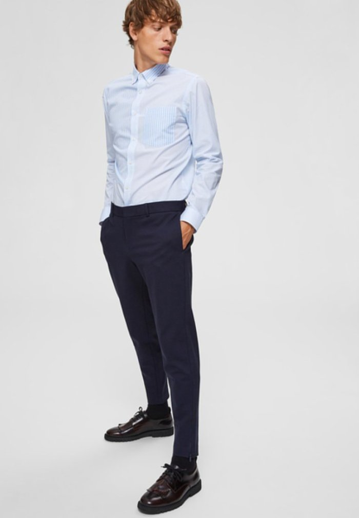 Selected Homme - Pantalones chinos - dark blue