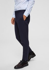 Selected Homme - Pantalones chinos - dark blue - 3