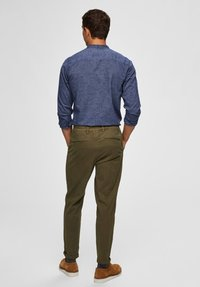 Selected Homme - Chinos - dark green - 2
