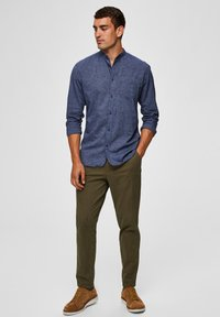 Selected Homme - Chinos - dark green - 1