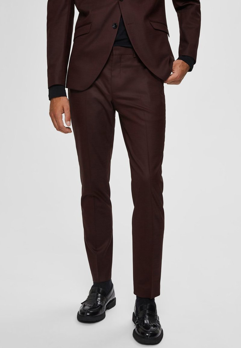 Selected Homme - SLIM FIT - Suit trousers - port royale