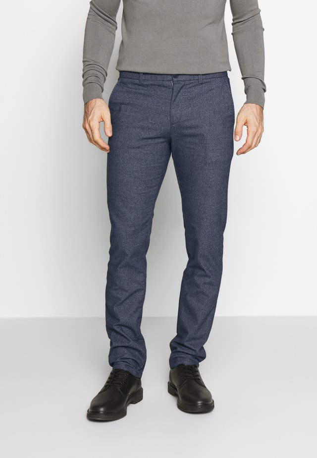 SLHSLIM ARVAL PANTS - Trousers - dark sapphire