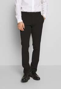Selected Homme - SLHSLIM-CARLO FLEX PANTS - Kalhoty - black - 0