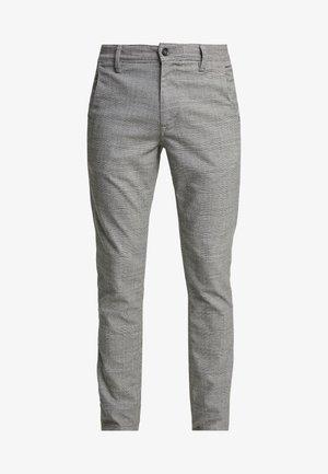 SLHSLIM-STORM FLEX SMART PANTS - Trousers - grey
