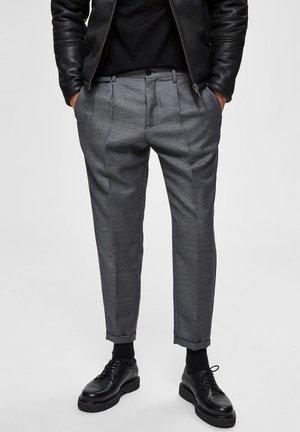 SLIM FIT - Pantalon classique - grey melange