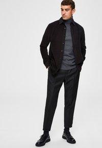Selected Homme - SLIM FIT - Pantalon classique - black - 1