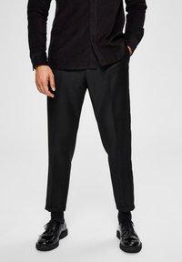 Selected Homme - SLIM FIT - Pantalon classique - black - 0
