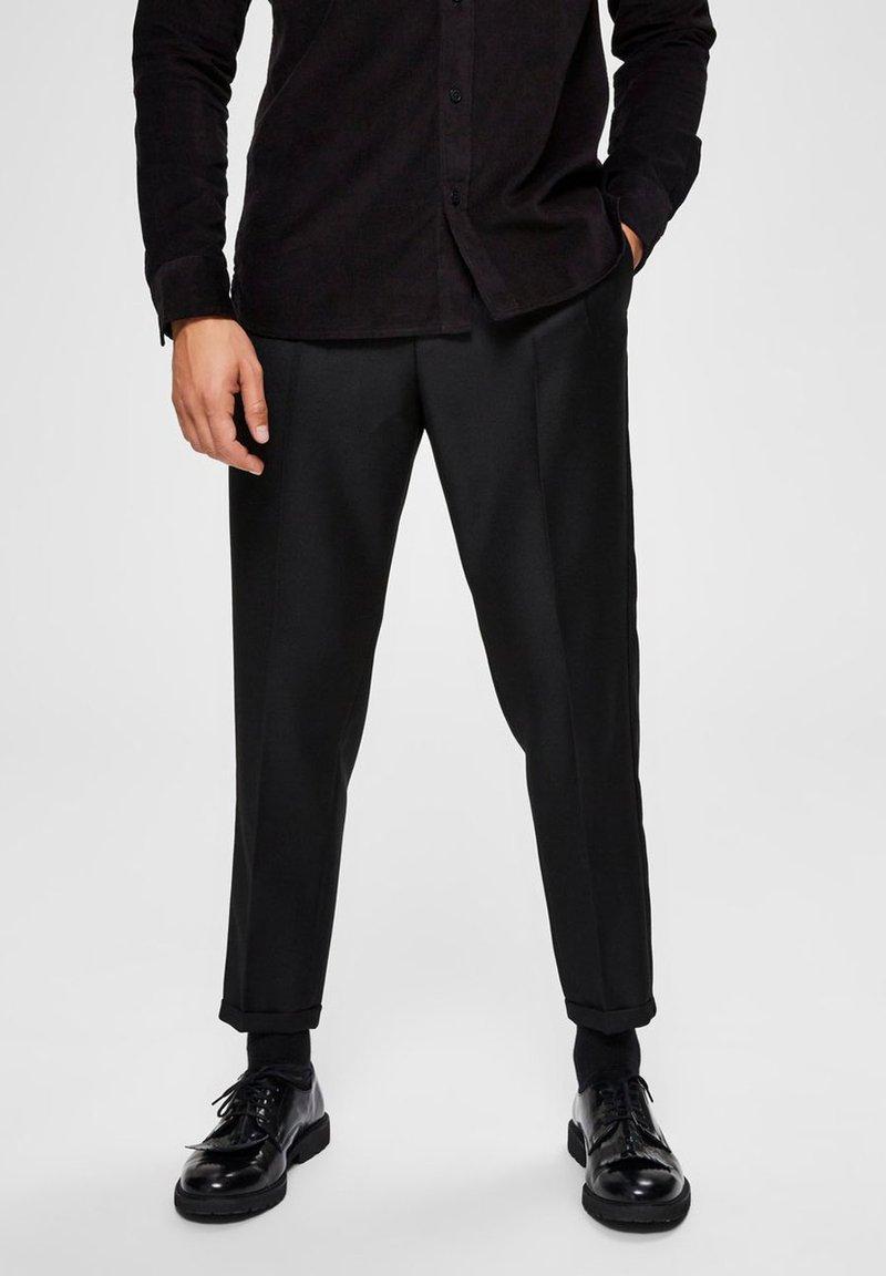 Selected Homme - SLIM FIT - Pantalon classique - black