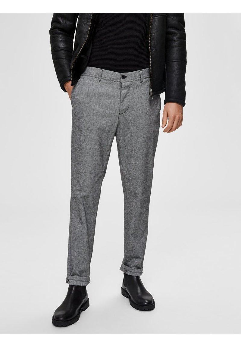Selected Homme - Broek - light grey melange