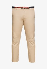 Selected Homme - SLHSLIM YARD PANTS - Chinos - white pepper - 4
