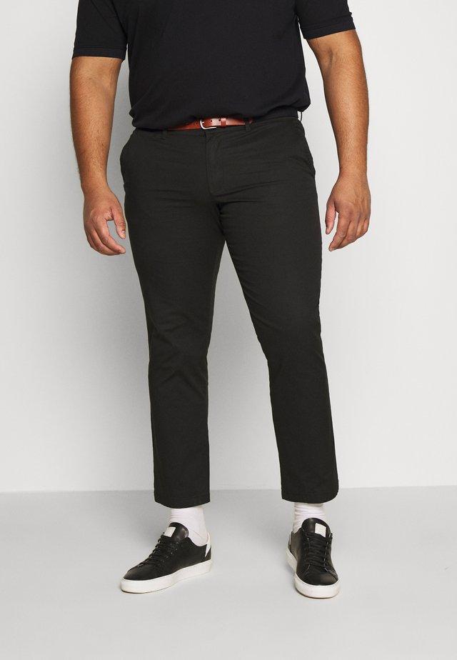 SLHSLIM YARD PANTS - Chinos - black