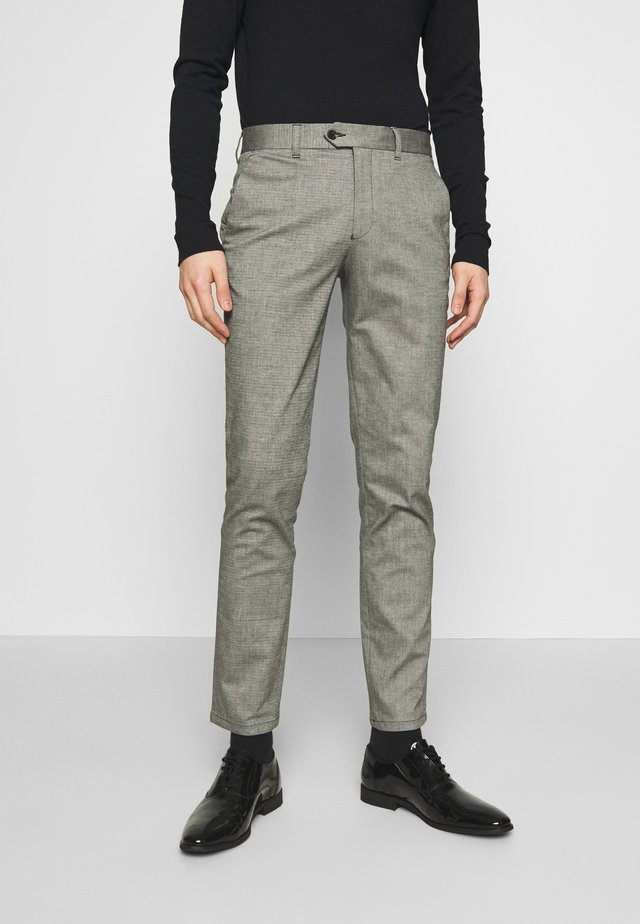 CARLO COTFLEX PANTS - Tygbyxor - dark grey