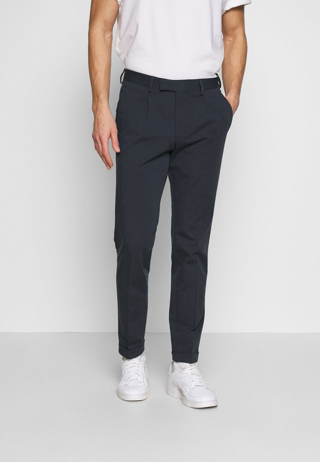SLHSLIMTAPE FRANKIE FLEX  - Pantalon classique - navy blue