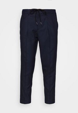 SLHSLIMTAPE JAX CROP PANTS - Kalhoty - navy