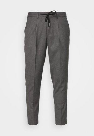 JAX GREY CROP PANTS - Kalhoty - grey