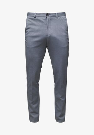SLHSLIM-AIDEN - Trousers - light blue