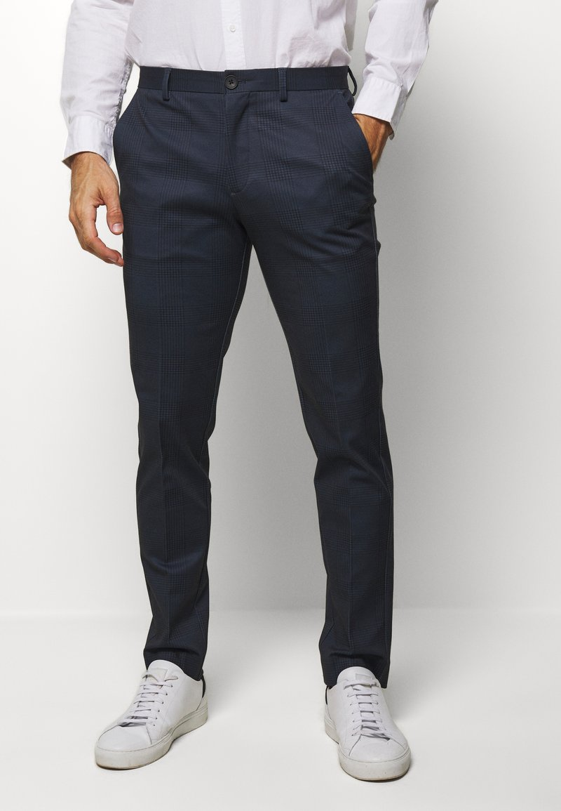 Selected Homme - SLHSLIM-AIDEN - Pantaloni - navy blue
