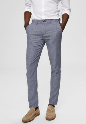 SELECTED HOMME HOSE SLIM FIT - Kangashousut - blue shadow 2