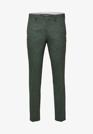 SELECTED HOMME ANZUGHOSE SLIM FIT - Suit trousers - shadow