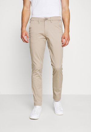 SLHSLIM MILES FLEX PANTS - Kalhoty - greige