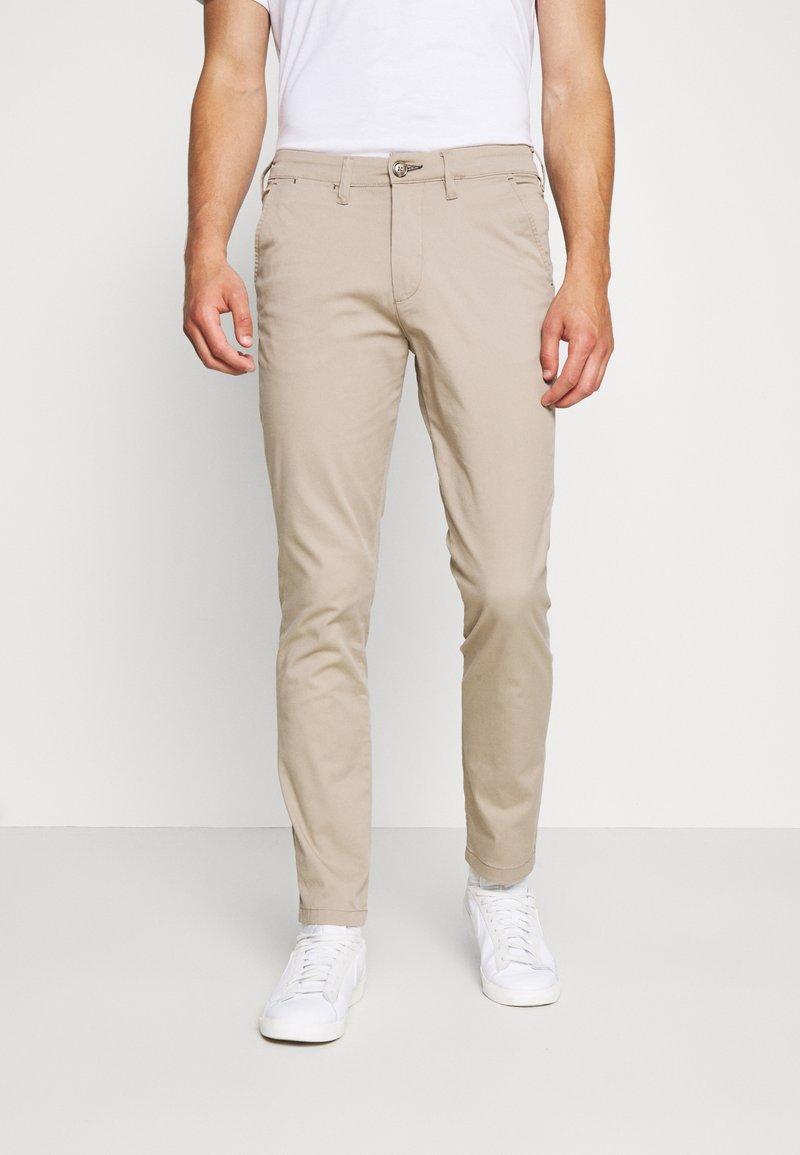 Selected Homme - SLHSLIM MILES FLEX PANTS - Kalhoty - greige