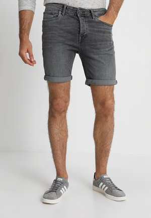 SHNALEX - Denim shorts - light grey denim