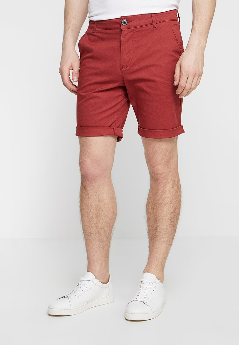Selected Homme - SLHSTRAIGHT PARIS - Shorts - brick red