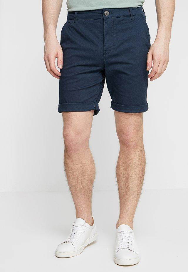 SLHSTRAIGHT PARIS - Shorts - dark sapphire