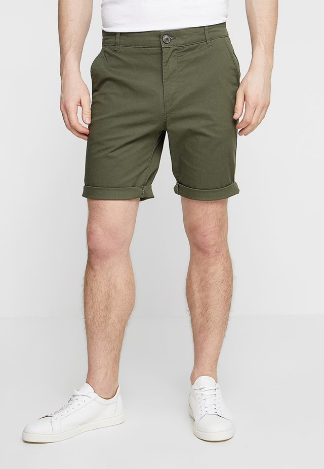 SLHSTRAIGHT PARIS - Shorts - deep depths