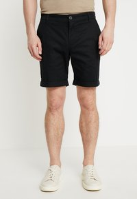Selected Homme - SLHSTRAIGHT PARIS - Shorts - black - 0