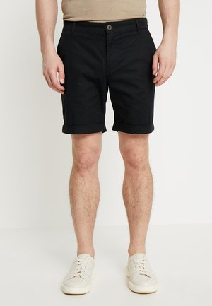 SLHSTRAIGHT PARIS - Shorts - black