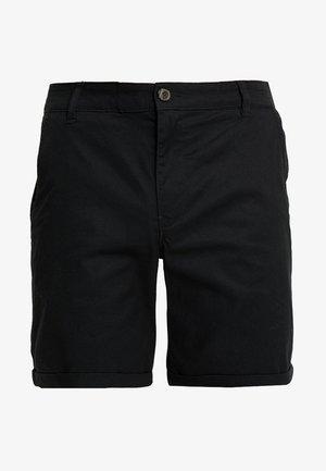 SLHSTRAIGHT PARIS - Shorts - black