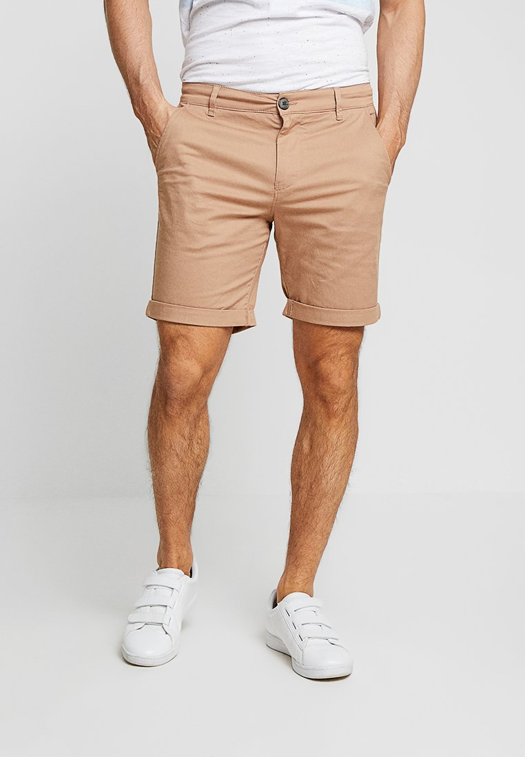 Selected Homme - SLHSTRAIGHT PARIS - Shorts - almondine