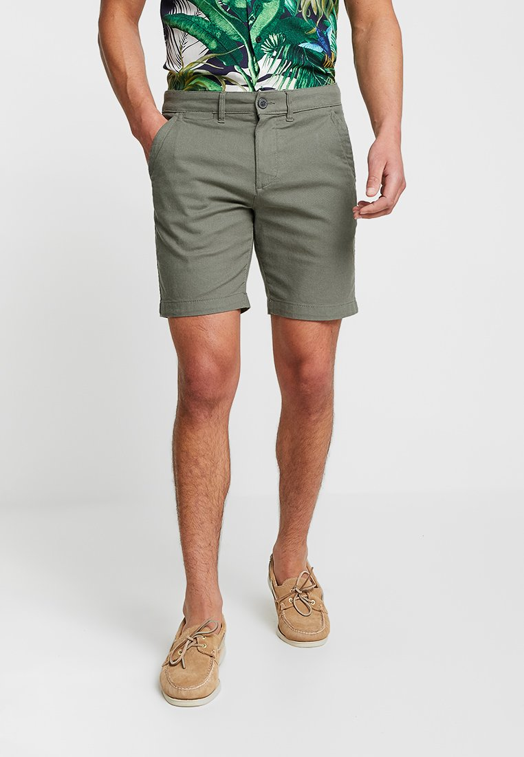 Selected Homme - SLHSTRAIGHT CHRIS - Shorts - agave green
