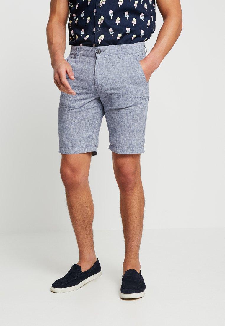 Selected Homme - SLHSTRAIGHT-PARIS  - Shorts - blue depths/egret