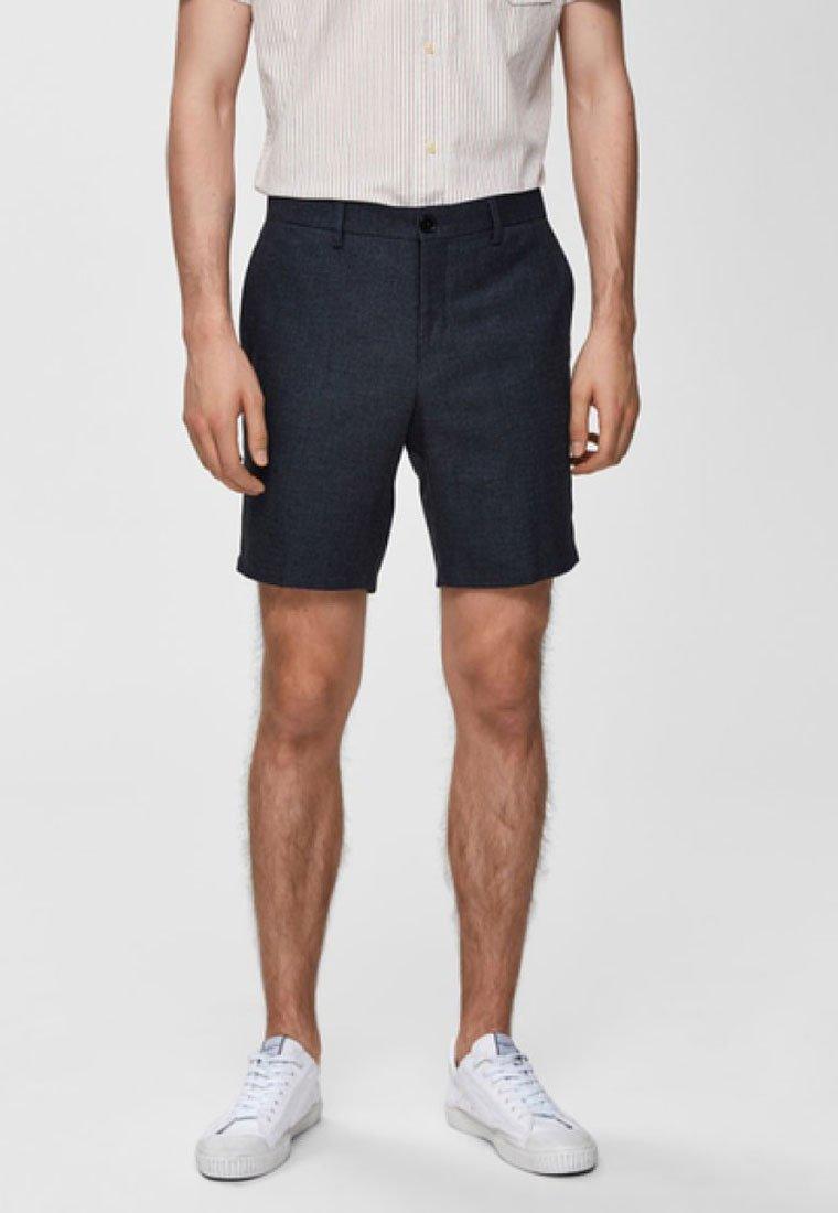 Selected Homme - REGULAR FIT - Shorts - dark blue