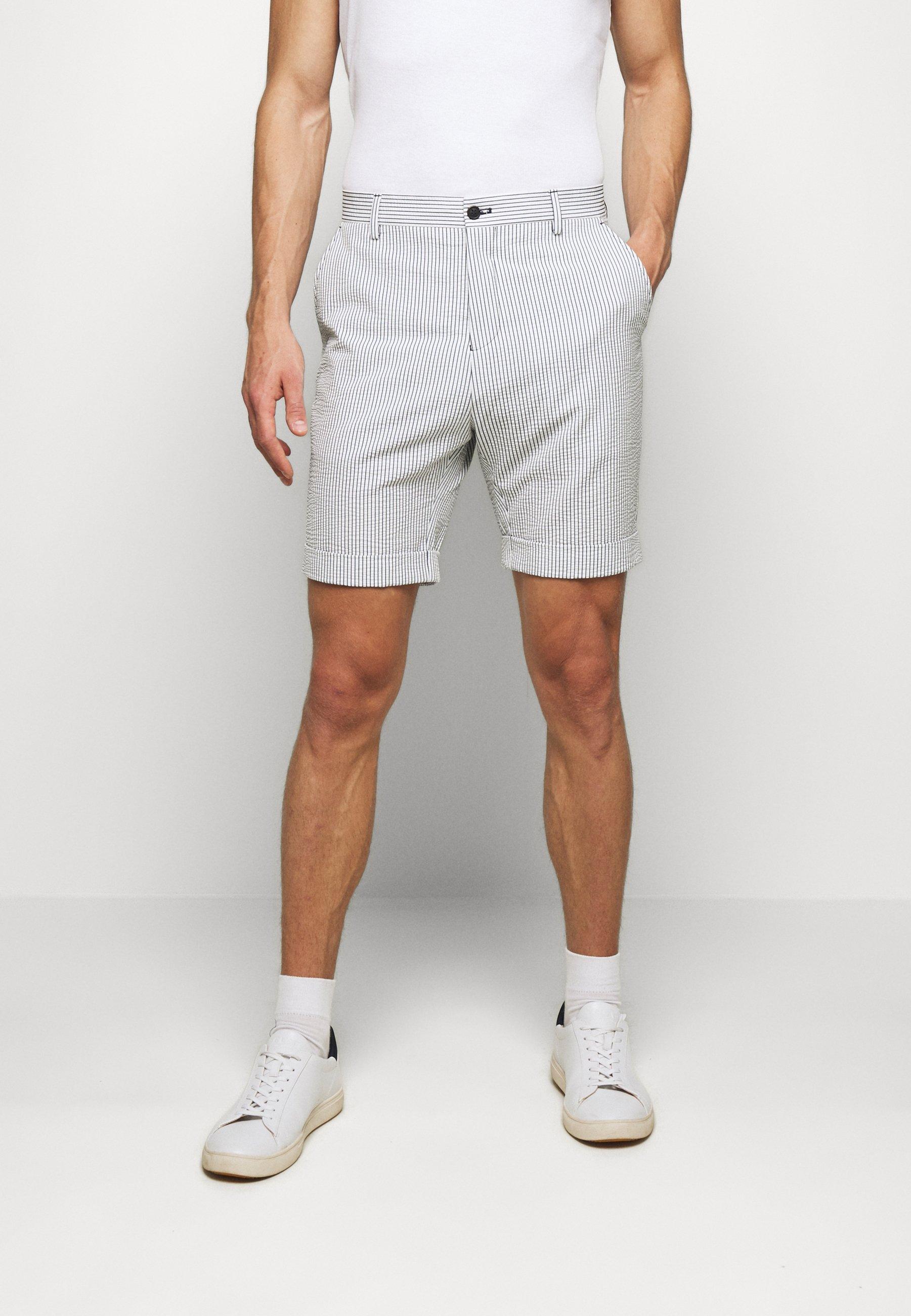 Selected Homme SLHROY - Short - white - ZALANDO.