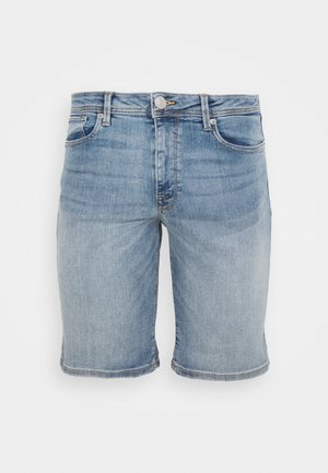 SLHALEX  - Jeansshort - light blue denim