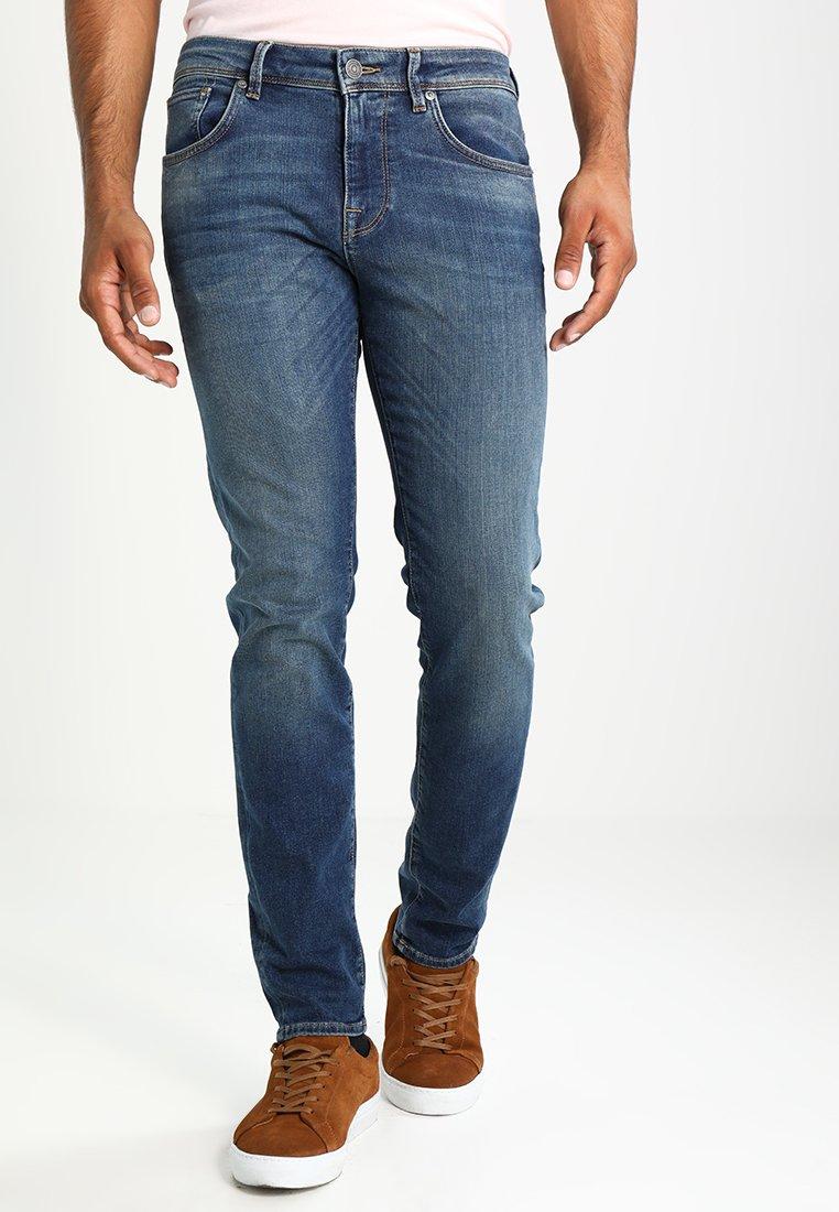 Selected Homme - SHNSLIM LEON - Jean slim - medium blue denim