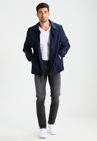 Selected Homme - SHNSLIM LEON - Jeans Slim Fit - grey - 1