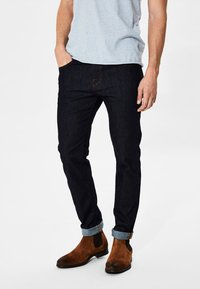 Selected Homme - Jean slim - dark blue - 0