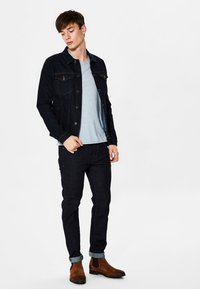 Selected Homme - Jean slim - dark blue - 1