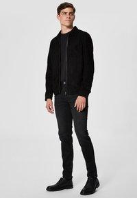 Selected Homme - Jean slim - black - 1