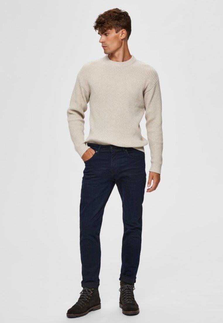 Selected Homme - Slim fit jeans - blue black denim