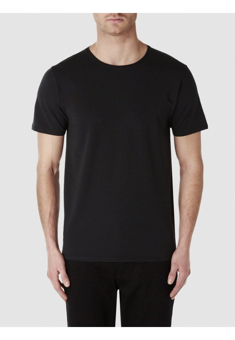 Selected Homme - T-shirt - bas - black