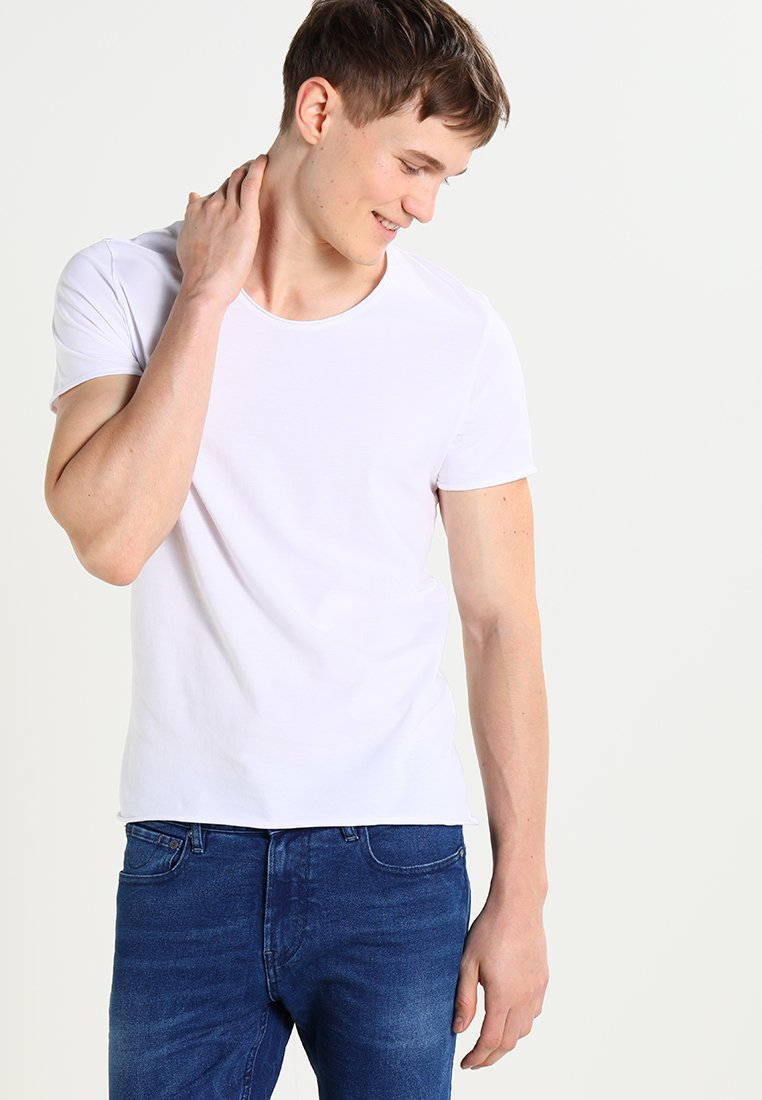 Selected Homme - SHNNEWMERCE - Basic T-shirt - bright white